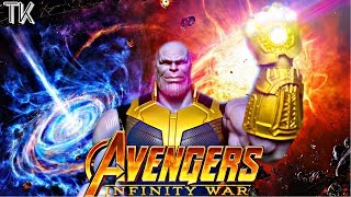 Avengers: Infinity War Stop Motion Movie (Phase 1)