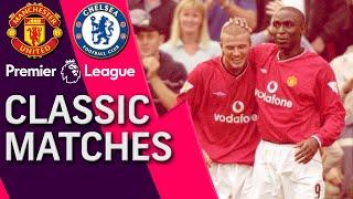Manchester United v. Chelsea | PREMIER LEAGUE CLASSIC MATCH | 9/23/2000 | NBC Sports