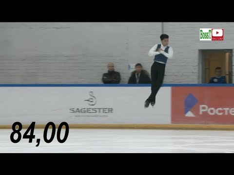 Artur DANIELYAN (c. Buyanova) - SP Overview (Rus Jr Nats 2019)