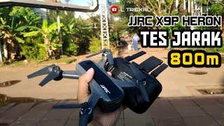 Test Jarak maksimal JJRC x9 Heron   FPV paling jauh