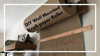 DIY Kraft-Paper Roller Tutorial