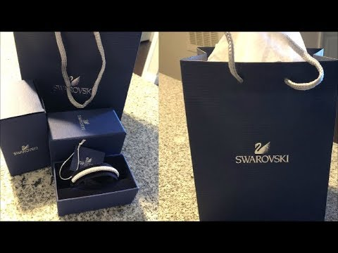 Swarovski Bangle Bracelet | MY FIRST Swarovski Bracelet!