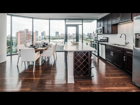 Video tour – New luxury apartments next door to Mariano's