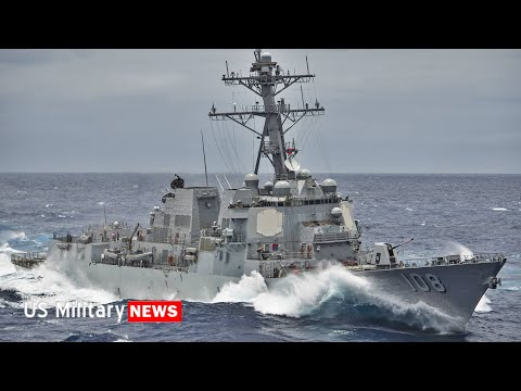 US Navy Destroyer Challenges CHINA in the South China Sea