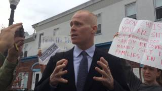 "WNYC Interview: Jim Keady, Protester told by Gov. Christie to ""Sit Down & Shut Up"""