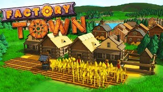 Automated Poop Production and Clothing Creation in Factory Town