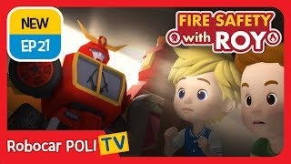 🔥Fire safety with Roy | EP21 | A Scary Earthquake! | Robocar POLI | Kids animation HD