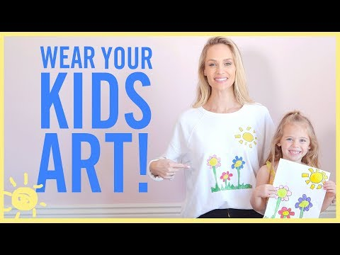 STYLE & BEAUTY | Wear Your Kids' Artwork!