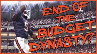 THE END OF THE BUDGET DYNASTY? - Madden 16 Ultimate Team | MUT 16 PS4 Gameplay