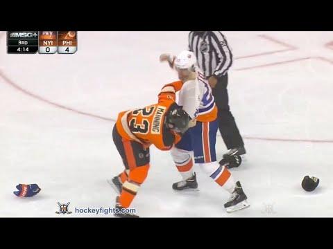 Brandon Manning vs. Anders Lee