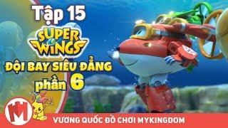 ĐỘI BAY SIÊU ĐẲNG - Phần 6 | Tập 15: Đám Cưới Dưới Biển Ở Mykonos - Phim hoạt hình Super Wings
