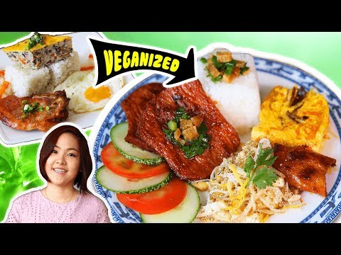 CƠM TẤM CHAY – Vegan Broken Rice Plate