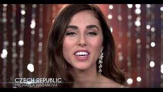 Michaela Habanova Miss Universe Czech Republic 2017 Introduction Video