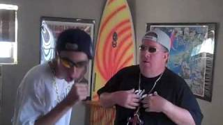 Doug and Chad rapping to Can You Rock It Like This RUN DMC