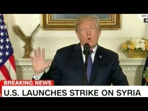BREAKING! President Trump Announces United States Is NOW At War With Syria!