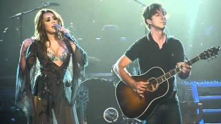 Miley Cyrus - Landslide HD - Live From Brisbane Australia