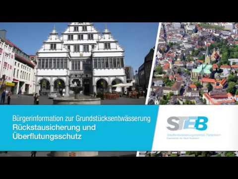 Rückstausicherung und Überflutungsschutz - STEB Paderborn