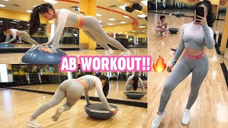 5 AB EXERCISES USING A BOSU BALL | Have You Tried These??