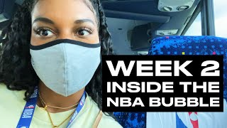 Behind the Scenes Look at LeBron, JJ Redick, More at NBA Scrimmages   Taylor Rooks Bubble Vlog