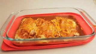 Gluten-Free Chicken Enchilada Recipe With Cream Cheese : Eating Healthy & Gluten-Free