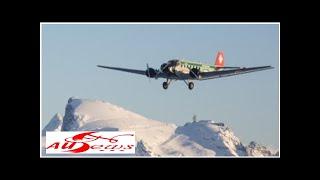20 Menschen sterben beim Absturz einer Junkers Ju-52