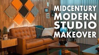 A Midcentury Modern Makeover With DIY Soundproofing  - You Wish You Lived Here: Jared Leto