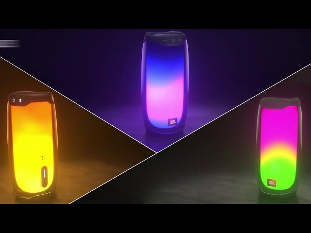 Caixa de Som Jbl Preta Pulse 4