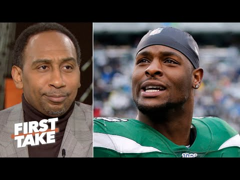 Stephen A. has a problem with Le'Veon Bell going bowling after being ruled out sick | First Take