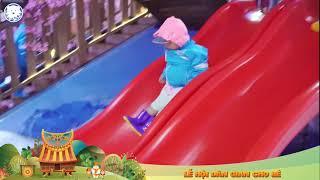 """Đặc sắc """"Lễ hội dân gian cho bé"""" trên tuyết"""