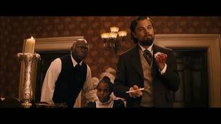 "DJANGO UNCHAINED [2012] Scene: ""The Right N*gger""Calvin Snaps."