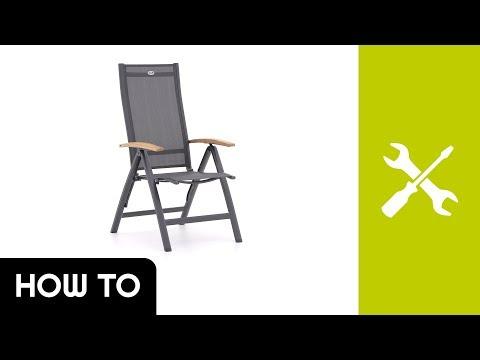 How to: Aufbau Hartman Troy Essstuhl | Kees Smit Gartenmöbel