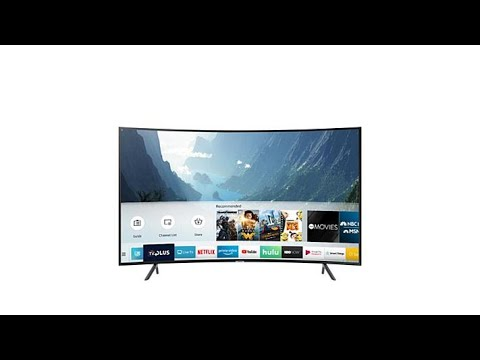 Samsung NU7300 55″ Curved 4K UHD Smart HDTV with 2Year W…
