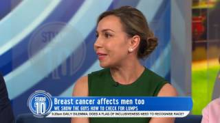 Breast Cancer Survivor Mark Martin & Dr. Dasha Fielder