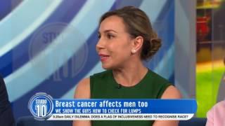 Breast Cancer Survivor Mark Martin & Dr. Dasha Fielder