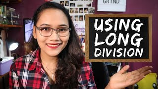 Using Long Division - Dividing Numbers Part 1