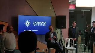 Nathan Kaiser Chairperson of Cardano Foundation AMA - Cardano Meetup in NYC