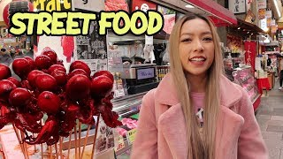 Japanese Food Market Tour | Kuromon Market