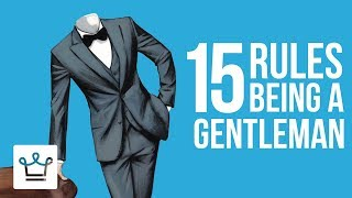 Gambar cover 15 RULES For Being A GENTLEMAN