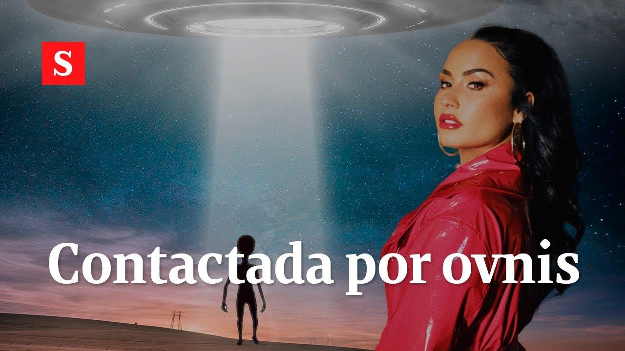 Demi Lovato contactó con extraterrestres y publicó fotos y videos como prueba | Videos Semana