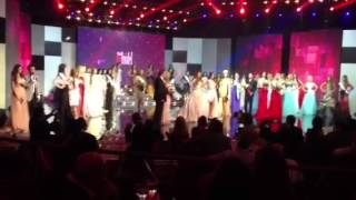 Miss World Next Top Model 2013  At Casino Du Liban Sponsored By Saoud Flowers -Lebanon