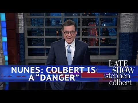 Stephen Colbert Responds To Devin Nunes
