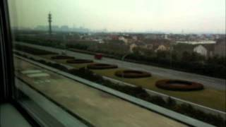 preview picture of video 'MagLev Bullet Train Shanghai'