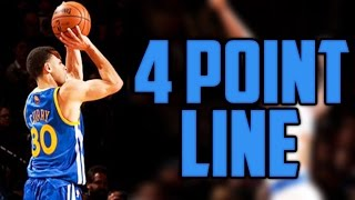 WHAT IF THE NBA ADDED A 4 POINT LINE?