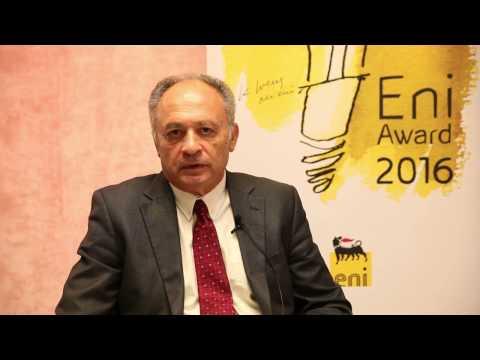 YouTube | Eni Award 2016: David Milstein