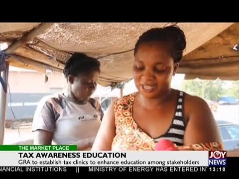 Tax Awareness Education - The Market Place on Joy News (6-4-18)