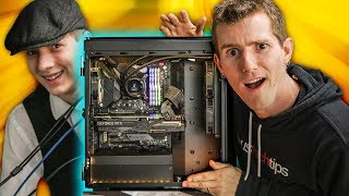 He's NEVER experienced REAL PC Gaming.. - ROG Rig Reboot 2018