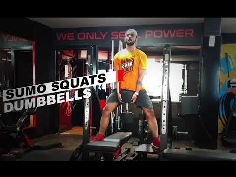Dumbbell Sumo Squats - How to
