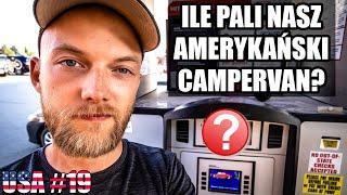 Ile pali nasz amerykański campervan? – Kamperem po USA #19