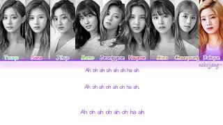 mqdefault - FULL VER  TWICE 트와이스   STAY BY MY SIDE 深夜のダメ恋図鑑 OST  Color Coded Lyrics Eng Kan Rom Han