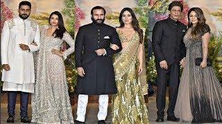 Bollywood Couples At Sonam Kapoor Wedding Reception